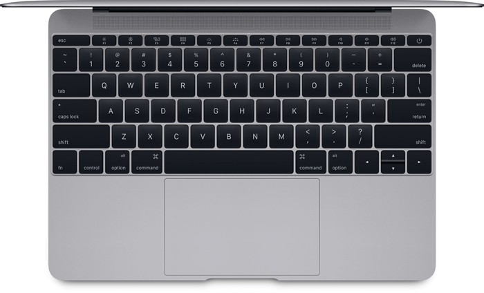 MacBook 2015 keyboard