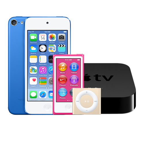 Apple TV és iPod