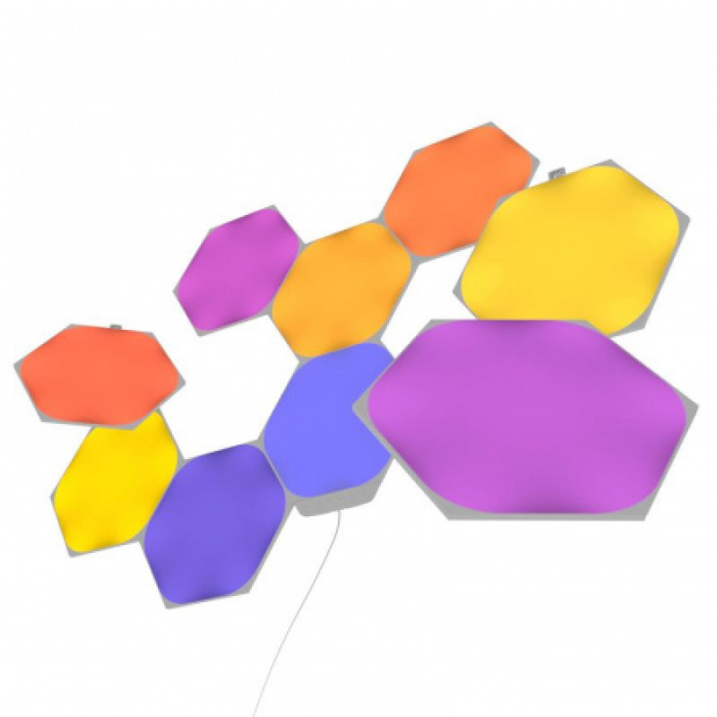 Nanoleaf Shapes Hexagons Kezdő Csomag 9 db panel - NL42-0002HX-9PK
