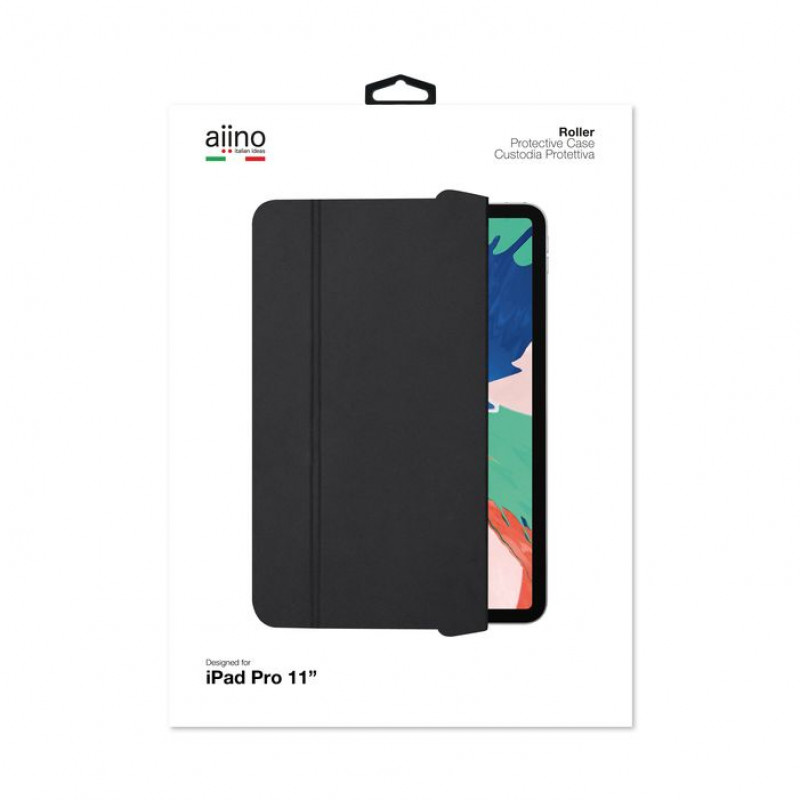 """Aiino - Roller case for iPad Pro 12.9"""" (2018) - Fekete"""