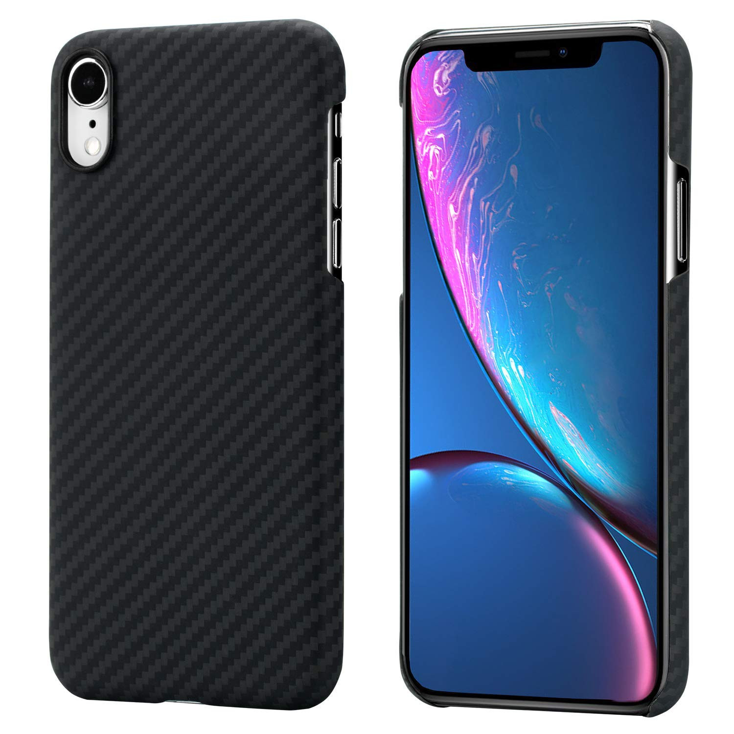 Pitaka Aramid Case iPhone XR Tok - Fekete