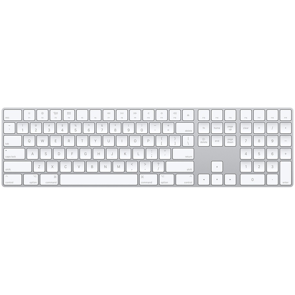 Apple Magic Keyboard számbillentyűzettel – EU
