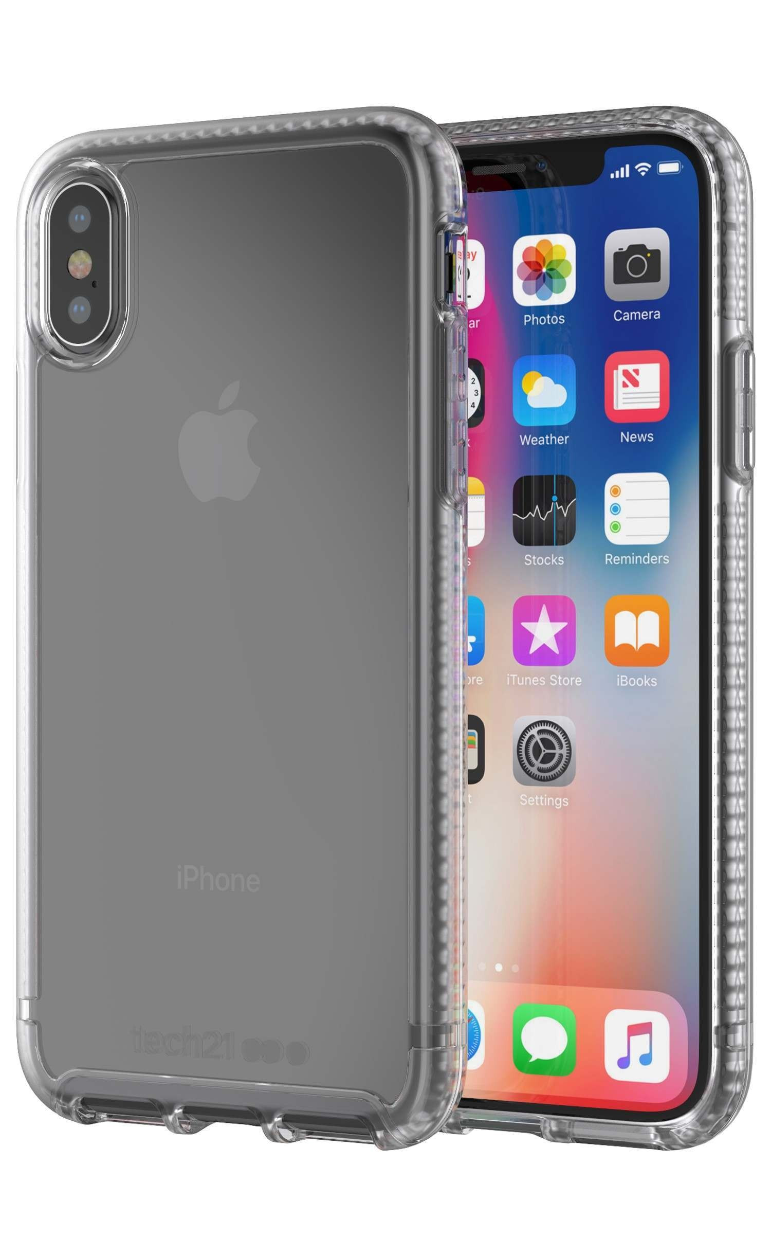 Tech21 Pure Clear iPhone X Tok