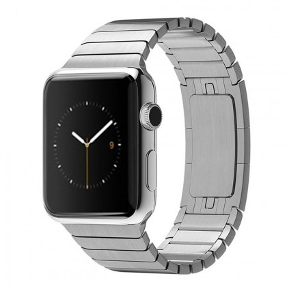 Tech-Protect láncszemes fémszíj Apple Watch Series 1/2/3/4 - 42/44 mm-es órához