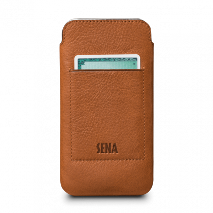 Sena Bence UltraSlim Wallet iPhone X - Barna