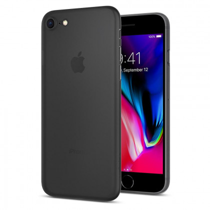 Spigen SGP Air Skin iPhone 8/7 tok - Fekete