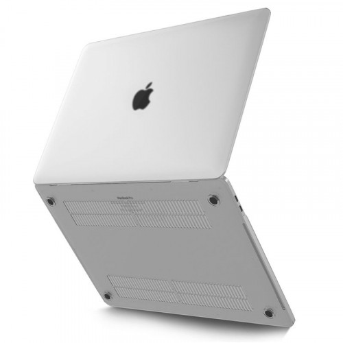 "Tech-Protect Smartshell Macbook Pro 13"" (2016/2017) Tok - Matt fekete"