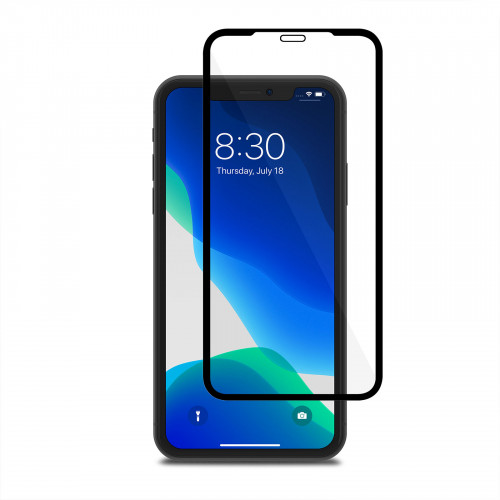 Moshi AirFoil Pro for iPhone 11 - Black (Clear/Glossy) anti-shatter screen protector