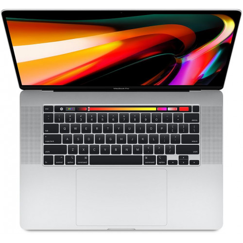 Apple MacBook Pro 16 Touch Bar és Touch ID - 2,6 GHz-es, 6 magos processzor - Ezüst - mvvl2mg/a