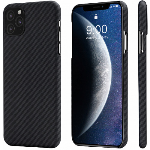 Pitaka Aramid Case iPhone 11 Pro Tok - Fekete