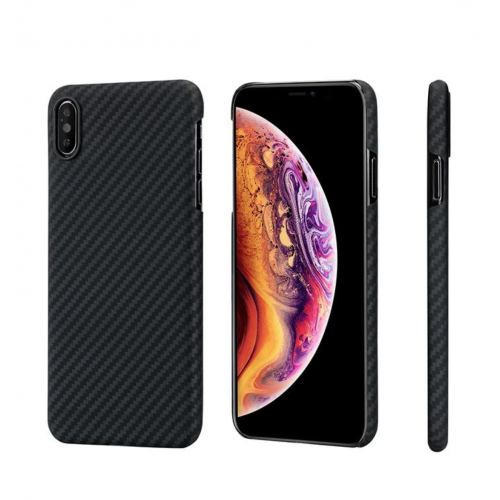 Pitaka Aramid Case iPhone XS Max Tok - Fekete