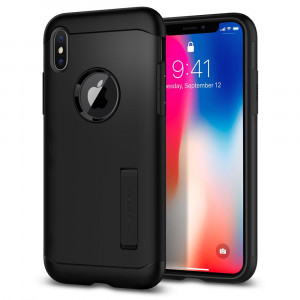 Spigen Slim Armor iPhone X tok